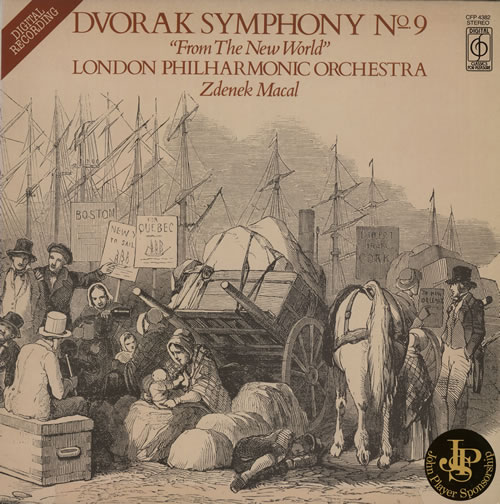 Antonín Dvorák Symphony No. 9 in E Minor, Op. 95 'From The New World' vinyl LP album (LP record) UK DDQLPSY565548