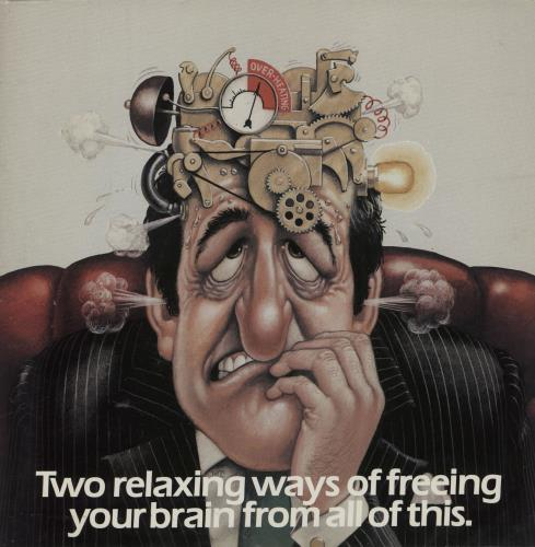 """Antonín Dvorák Two Relaxing Ways Of Freeing Your Brain From All Of This 7"""" vinyl single (7 inch record) UK DDQ07TW756006"""