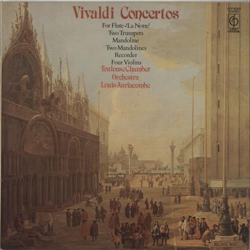 Antonio Vivaldi Vivaldi Concertos vinyl LP album (LP record) UK VI2LPVI687907