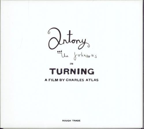 Antony & The Johnsons Turning 2-disc CD/DVD set UK A&J2DTU770197