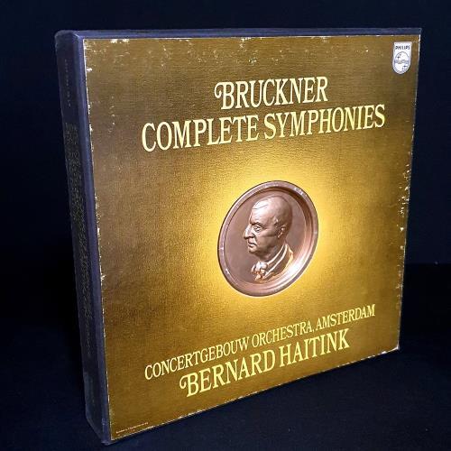 Anton Bruckner Complete Symphonies Vinyl Box Set UK B1PVXCO484963