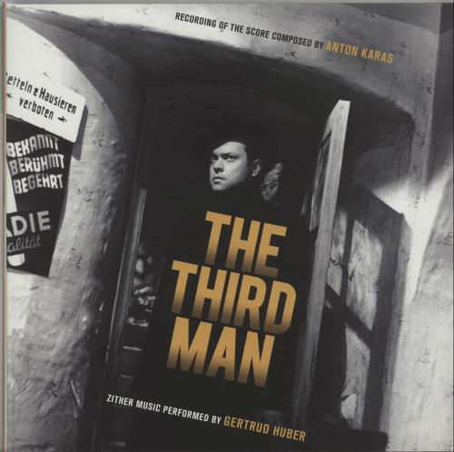 Anton Karas The Third Man - 180gm Black & White Split Vinyl vinyl LP album (LP record) UK A6ULPTH660866