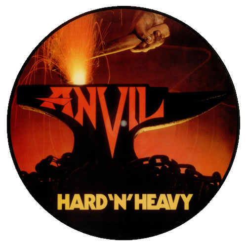 Anvil Hard 'N' Heavy picture disc LP (vinyl picture disc album) French AV5PDHA542147
