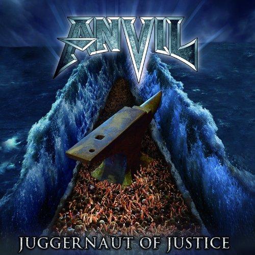 Anvil Juggernaut Of Justice CD album (CDLP) European AV5CDJU540137