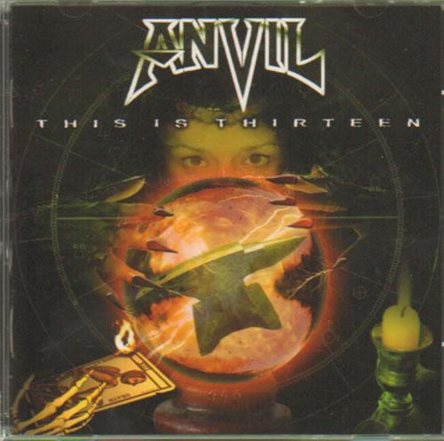 Anvil This Is Thirteen CD album (CDLP) US AV5CDTH638368