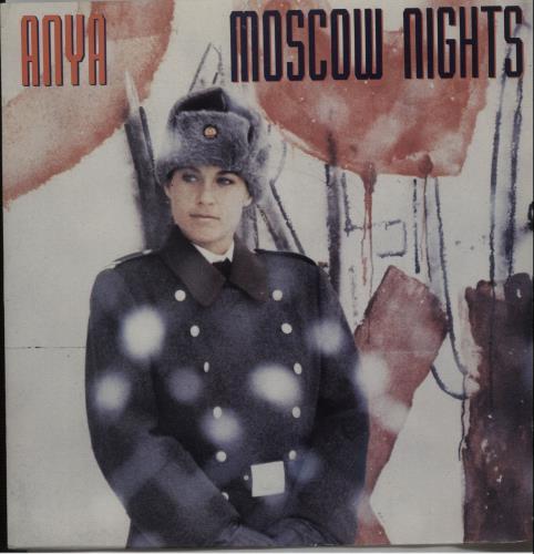"Anya Moscow Nights 7"" vinyl single (7 inch record) UK I6-07MO671988"