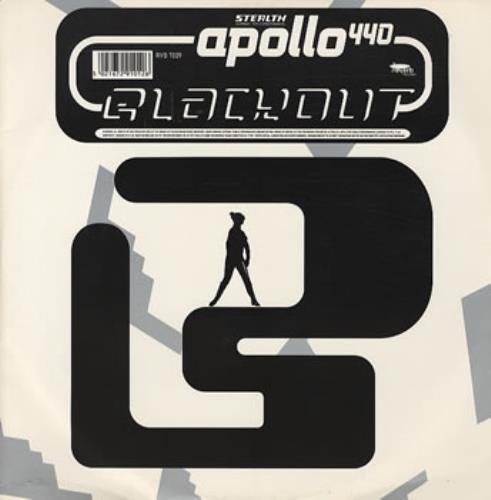 "Apollo 440 Blackout 12"" vinyl single (12 inch record / Maxi-single) UK A4412BL214454"