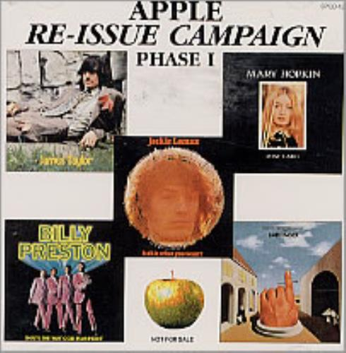 Apple Label Re-Issue Campaign - Phase I CD album (CDLP) Japanese APECDRE220094