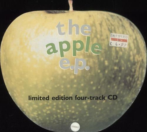 "Apple Label The Apple E.P. CD single (CD5 / 5"") UK APEC5TH303223"