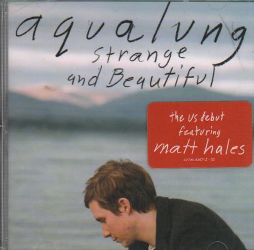 Aqualung Strange And Beautiful CD album (CDLP) US AQLCDST649190