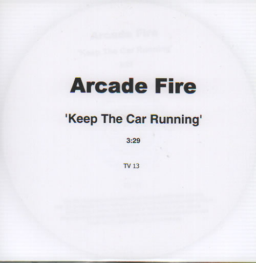 "Arcade Fire Keep The Car Running CD single (CD5 / 5"") UK ACFC5KE635289"