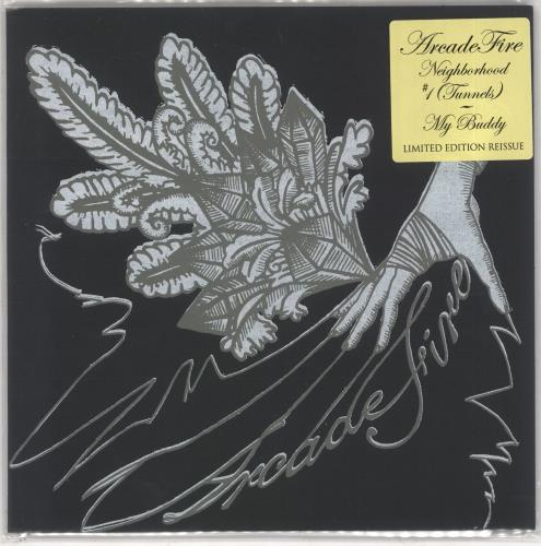 "Arcade Fire Neighborhood #1 (Tunnels) - RSD BF19 7"" vinyl single (7 inch record) UK ACF07NE734494"
