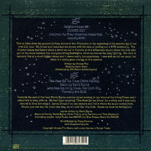 "Arcade Fire Neighbourhood #3 - Power Out (Live) 7"" vinyl single (7 inch record) UK ACF07PO325043"