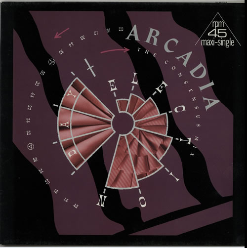 "Arcadia Election Day 12"" vinyl single (12 inch record / Maxi-single) German ARC12EL132630"