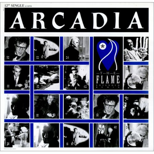 "Arcadia The Flame 12"" vinyl single (12 inch record / Maxi-single) US ARC12TH06581"