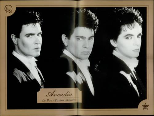 """Arcadia The Promise - Gold Sleeve + Poster 12"""" vinyl single (12 inch record / Maxi-single) UK ARC12TH67680"""