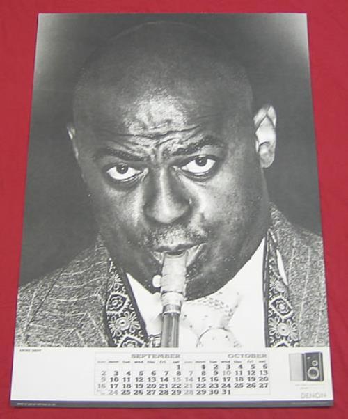 Archie Shepp Denon Calendar Poster poster Japanese AS0PODE359762