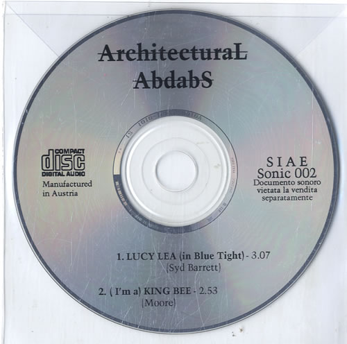 Architectural Abdabs Lucy Lea In Blue Tight CD Single CD5 5