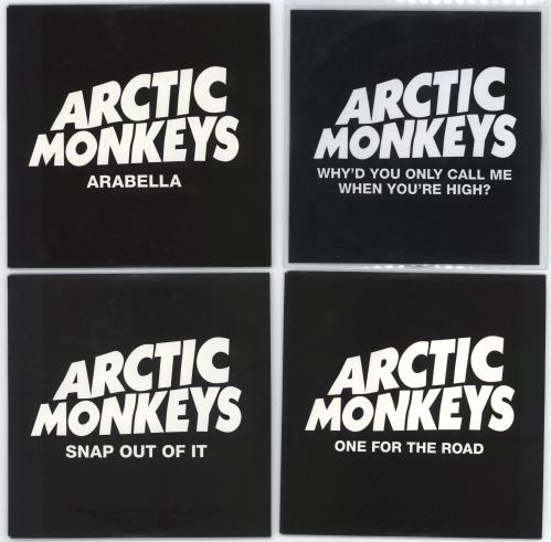"Arctic Monkeys A Set of 4 Promotional CDs CD single (CD5 / 5"") UK MEOC5AS615365"