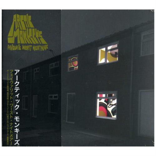 Arctic Monkeys Favourite Worst Nightmare CD album (CDLP) Japanese MEOCDFA396187