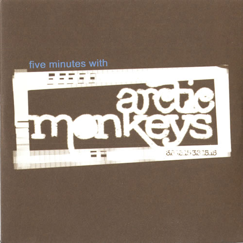"Arctic Monkeys Five Minutes With Arctic Monkeys CD single (CD5 / 5"") UK MEOC5FI346533"