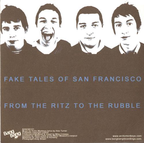 "Arctic Monkeys Five Minutes With Arctic Monkeys CD single (CD5 / 5"") UK MEOC5FI346533"