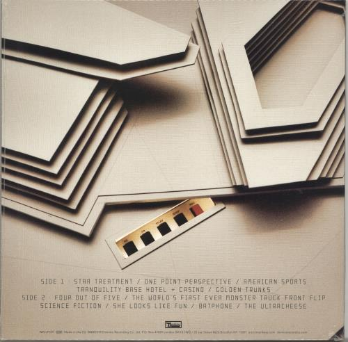 Arctic Monkeys Tranquility Base Hotel + Casino - 180gm - Clear - Sealed vinyl LP album (LP record) UK MEOLPTR696258