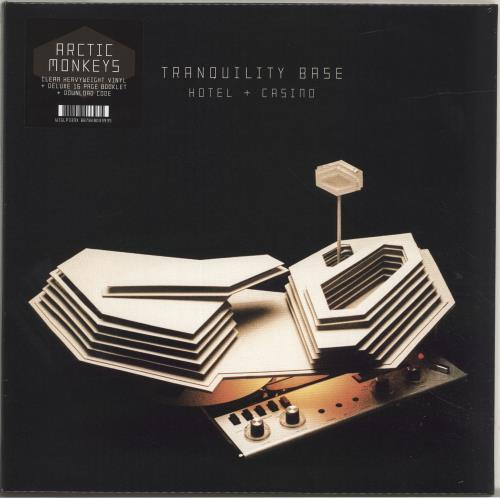 Arctic Monkeys Tranquility Base Hotel + Casino - 180gram Clear Vinyl - Sealed vinyl LP album (LP record) UK MEOLPTR696258