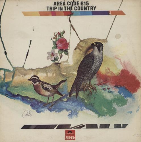 Area Code 615 Trip In The Country - EX vinyl LP album (LP record) UK AC6LPTR733074