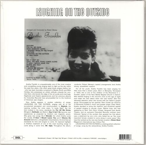 Aretha Franklin Laughing On The Outside - 180gm - Sealed vinyl LP album (LP record) Russian ARELPLA729730