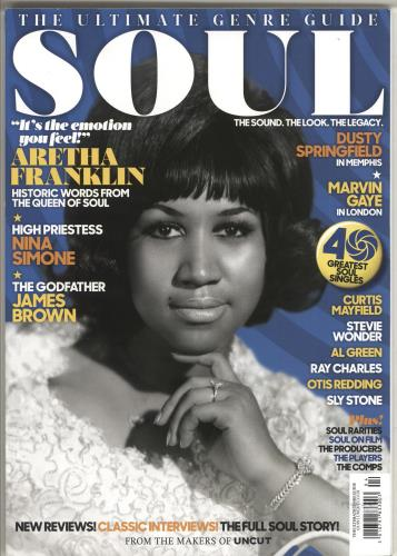 Aretha Franklin Soul: The Ultimate Genre Guide magazine UK AREMASO717112