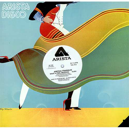 """Aretha Franklin What A Fool Believes 12"""" vinyl single (12 inch record / Maxi-single) US ARE12WH409676"""