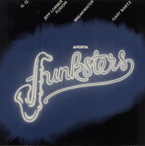 "Arista Arista Funksters 12"" vinyl single (12 inch record / Maxi-single) UK A6J12AR751219"