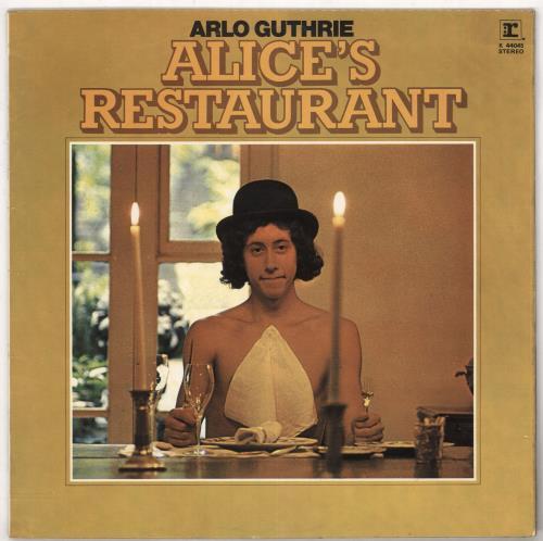 Arlo Guthrie Alice's Restaurant - woc vinyl LP album (LP record) UK AOGLPAL733070