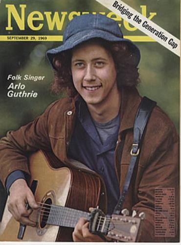 Arlo Guthrie Newsweek Uk Magazine 317746 Sept 29
