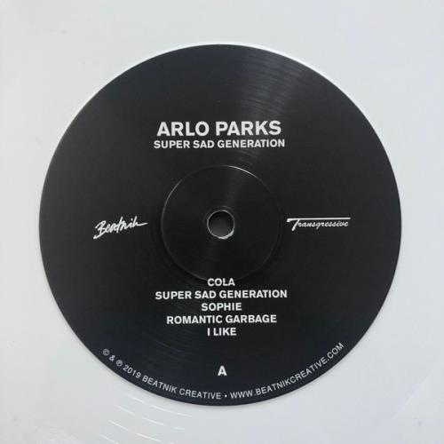Arlo Parks Super Sad Generation - White Vinyl - Sealed vinyl LP album (LP record) UK 2WMLPSU764876