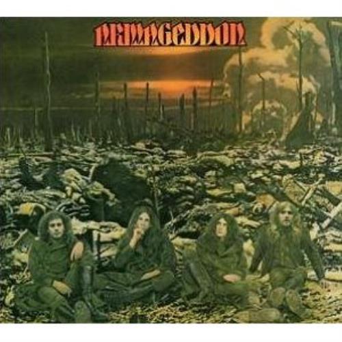 Armageddon (70s) Armageddon CD album (CDLP) UK GDOCDAR480840