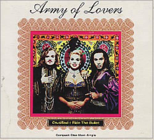 "Army Of Lovers Crucified - DNA Mixes CD single (CD5 / 5"") US AOLC5CR04351"