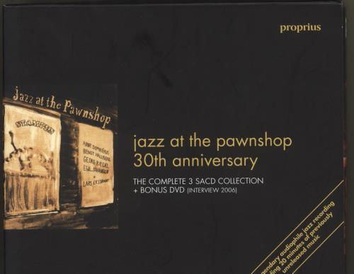 Arne Domnérus Jazz At The Pawnshop 30th Anniversary super audio CD SACD Swedish DOZSAJA713388