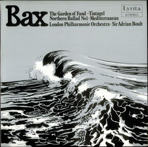 Arnold Bax Garden of Fand / Tintagel / Northern Ballad No. 1 / Mediterranean vinyl LP album (LP record) UK B1OLPGA537926