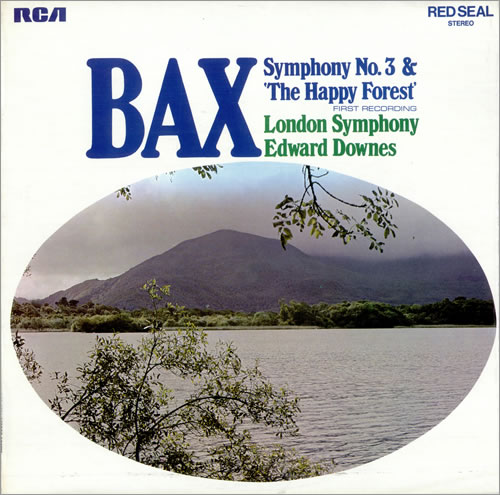 Arnold Bax Symphony No. 3 vinyl LP album (LP record) UK B1OLPSY484512