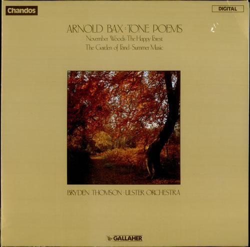 Arnold Bax Tone Poems vinyl LP album (LP record) UK B1OLPTO537852
