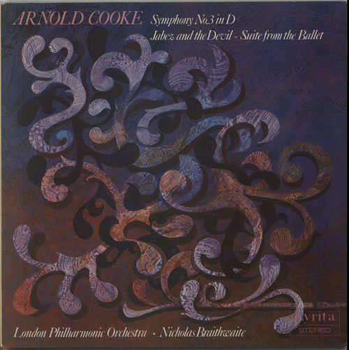 Arnold Cooke Symphony No. 3 in D / Jabez And The Devil vinyl LP album (LP record) UK A5WLPSY630822