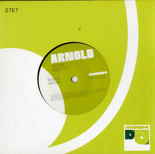 "Arnold Oh My 7"" vinyl single (7 inch record) UK ANO07OH577660"