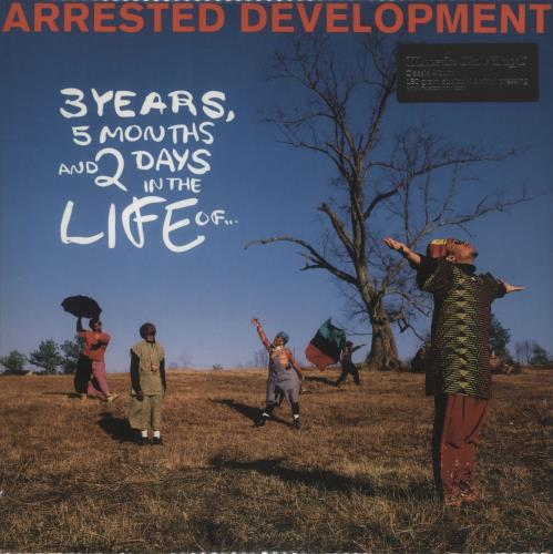 Arrested Development 3 Years, 5 Months And 2 Days In The Life Of... vinyl LP album (LP record) Dutch ARRLPYE724787
