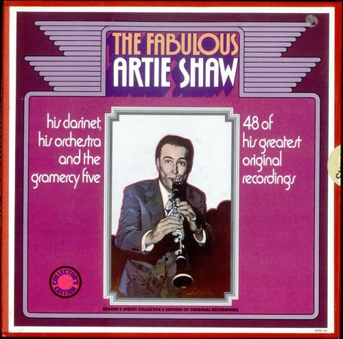 Artie Shaw The Fabulous Artie Shaw Vinyl Box Set UK AS-VXTH526412