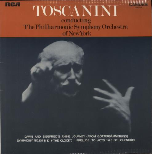 Arturo Toscanini Dawn And Siegfried's Rhine Journey / Symphony No. 101 In D / Prelude To Acts 1 & 3 Of Lohengrin vinyl LP album (LP record) UK A35LPDA743832