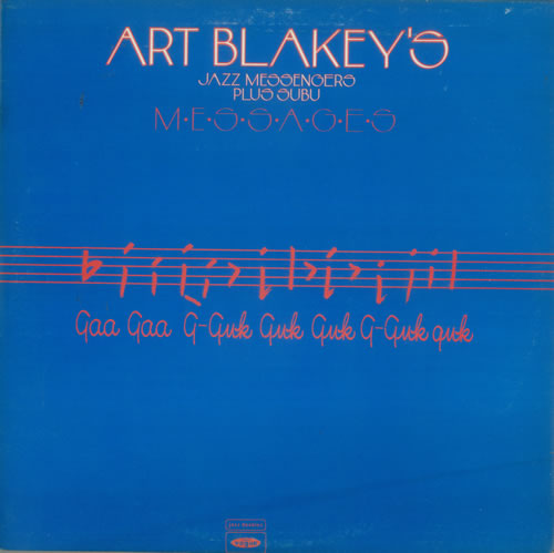 Art Blakey & The Jazz Messengers Messages 2-LP vinyl record set (Double Album) UK AB42LME547798