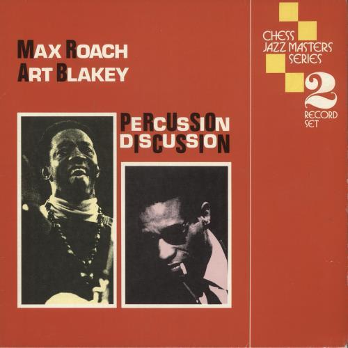 Art Blakey & The Jazz Messengers Percussion Discussion 2-LP vinyl record set (Double Album) UK AB42LPE677850