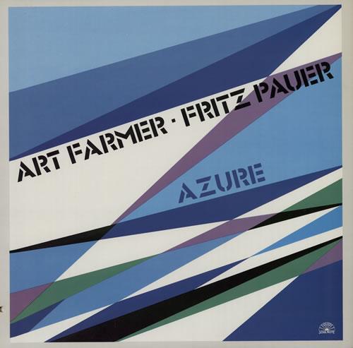 Art Farmer Azure vinyl LP album (LP record) Italian AFMLPAZ575136